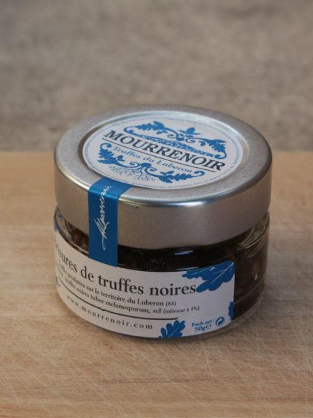 Brisures de truffes noires Mourrenoir - Pot 50g