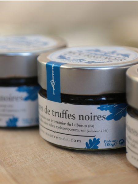 Brisures de truffes noires Mourrenoir - Pot 100g