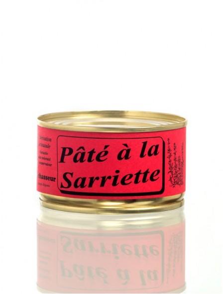 Pâté artisanal à la Sarriette Conserve 130g