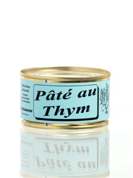 Pâté artisanal au thym - Conserve 130g