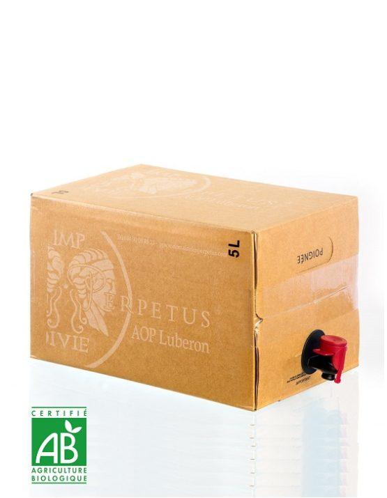 Vin rosé Les Perpetus 2017 Bag in box - Domaine les Perpetus