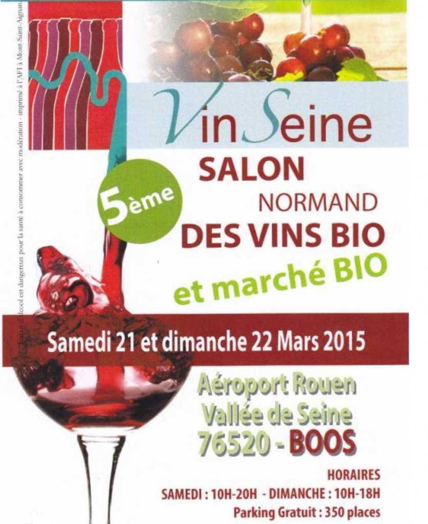 Le domaine les perpetus au 5e salon normand des vins bio for Salon du bio