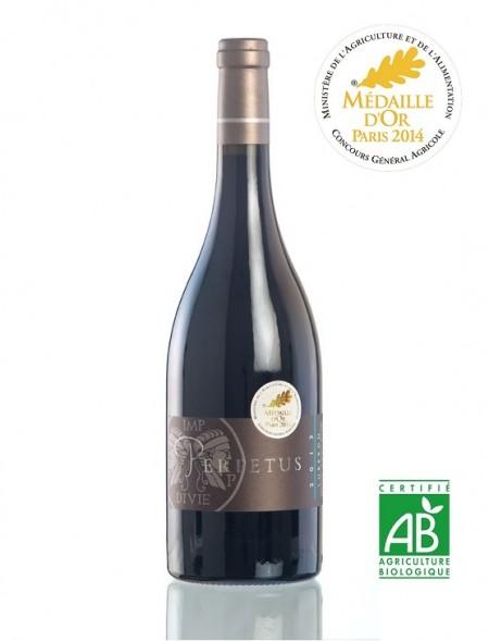 Vin rouge AOP Luberon 2013 Médaille d'or Bouteille 75cl - Domaine Les Perpetus