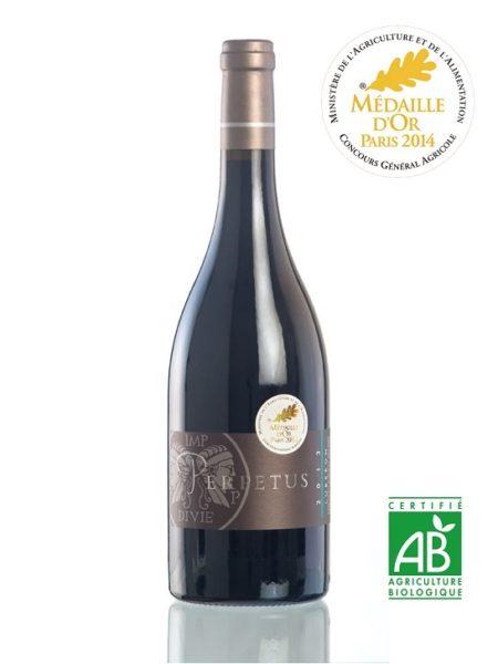 Vin rouge AOP Luberon 2014 - Bouteille 75cl