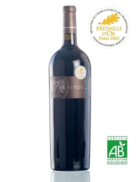 Vin rouge AOP Luberon 2013 Magnum 1,5l Médaille d'or au concours général agricole de Paris - Domaine les Perpetus