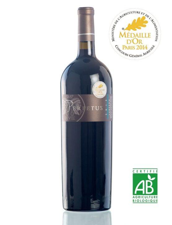 Vin rouge AOP Luberon 2014 Magnum 1,5l Médaille d'or au concours général agricole de Paris - Domaine les Perpetus