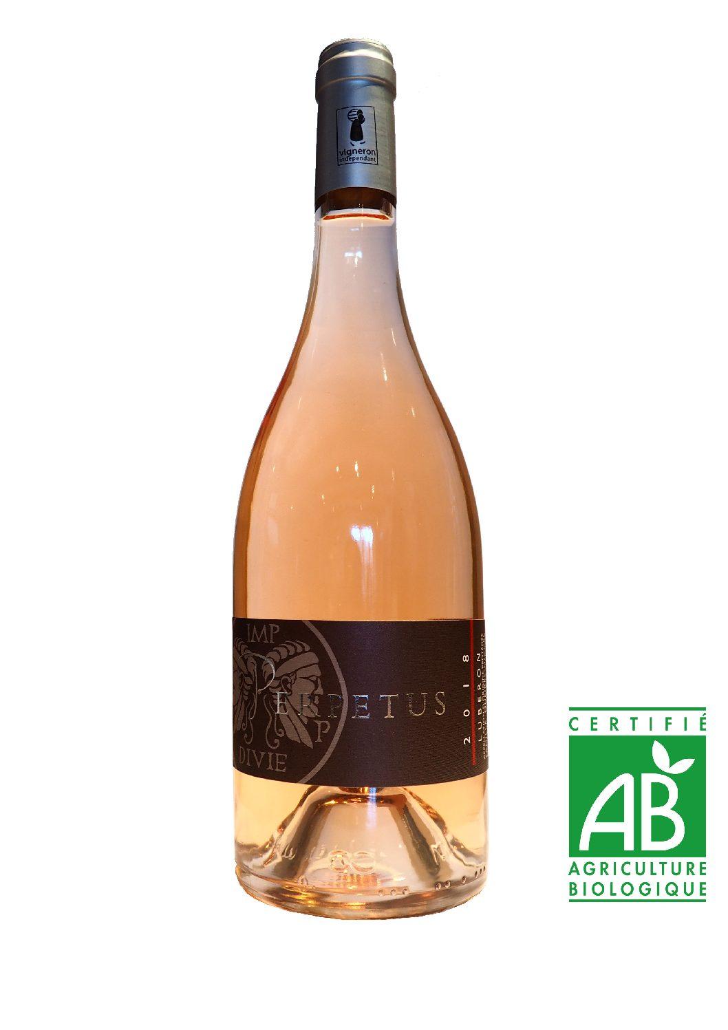 Vin rosé AOP Luberon 2018 - Bouteille 75cl