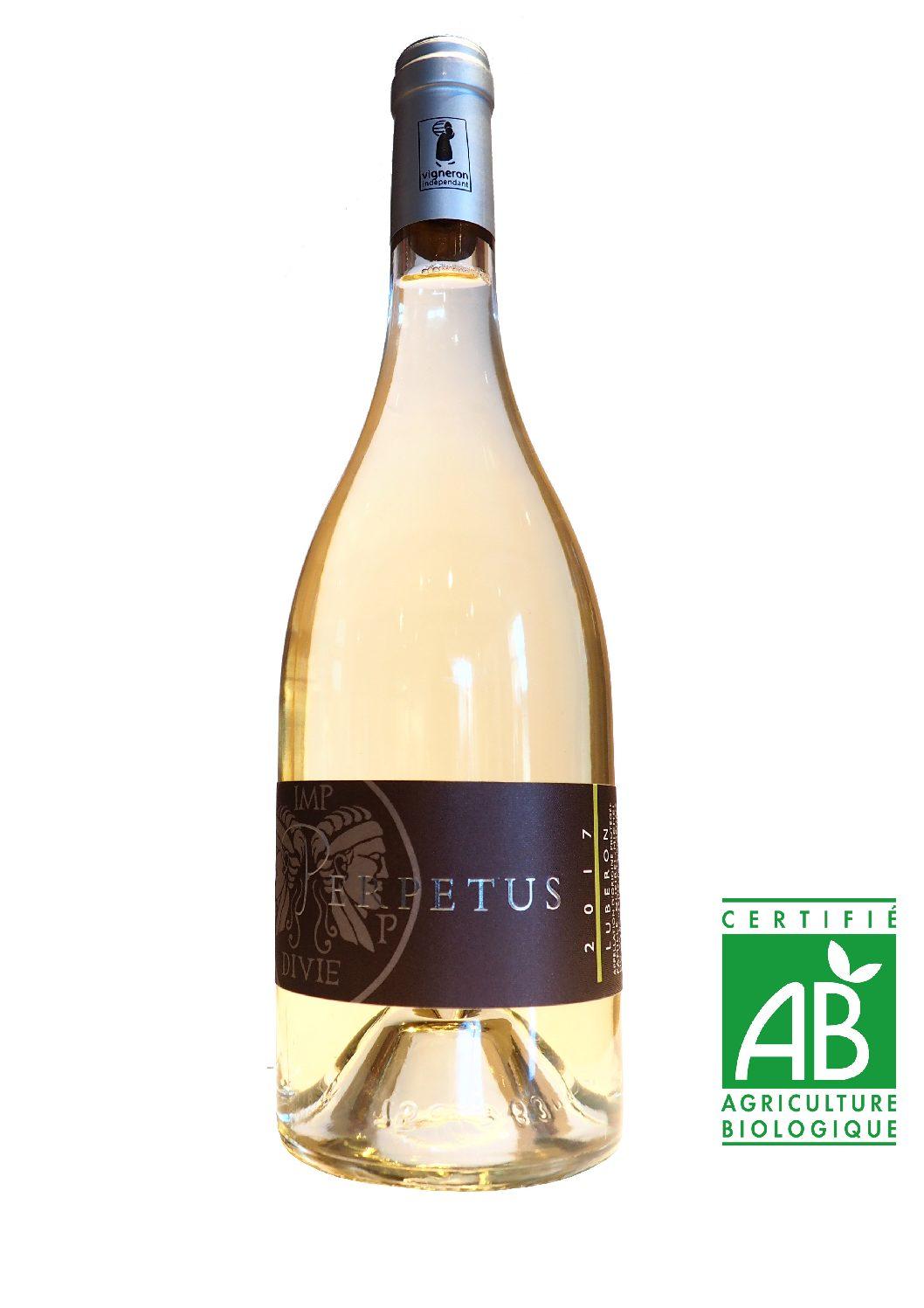 Vin blanc AOP Luberon 2017 - Bouteille 75cl