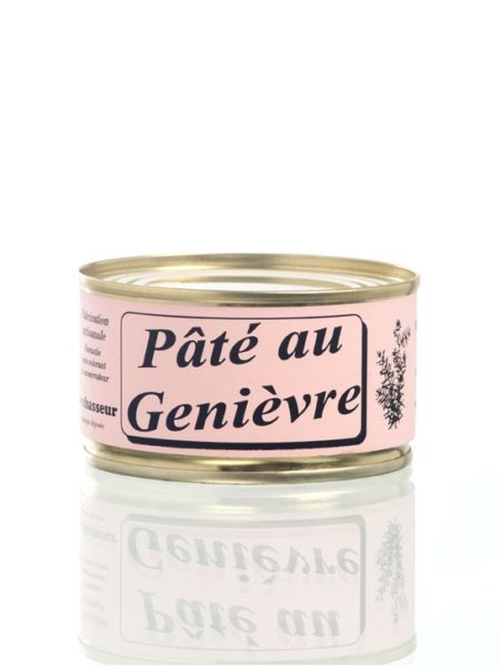 Pâté artisanal au genièvre - Conserve 130g