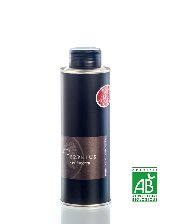 Huile d'olive Aglandau Bidon 25cl - Domaine les Perpetus