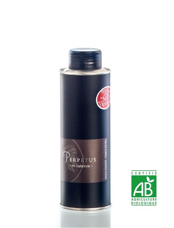 Huile d'olive Bouteillan Bidon 25cl - Domaine les Perpetus